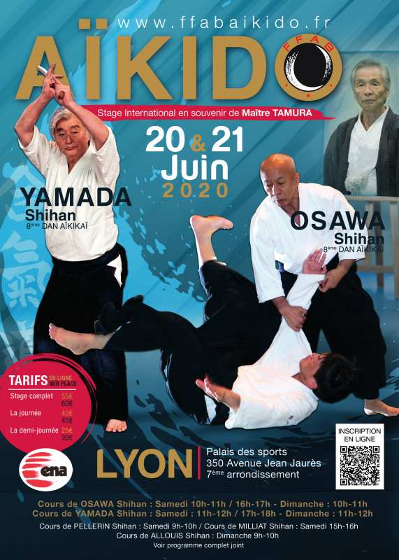 Stage International FFAB en mémoire de TAMURA shihan @ Palais des Sports de Gerland